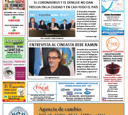 """Edición digital del periódico """"voces de la comuna 15"""" (mayo 2020)"""