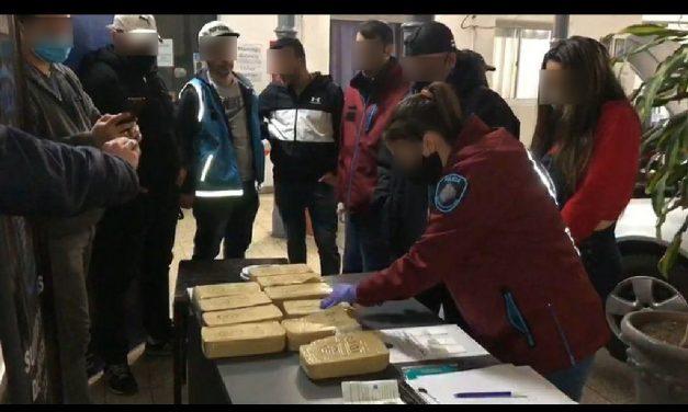Villa Ortúzar: La Policía de la Ciudad incautó más de 10 kilos de cocaína en operativo Fondo Blanco