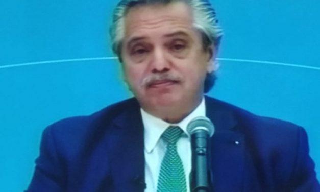 Alberto Fernández dio a conocer las restricciones hasta el 21 de mayo