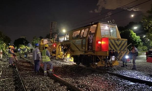 Hacen mejoras para reducir los tiempos de viaje en el tren Urquiza