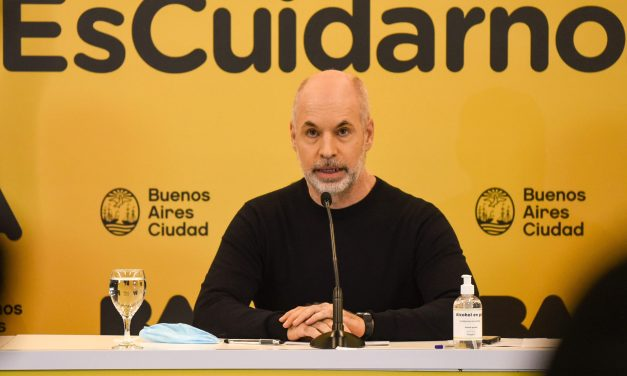 """Rodríguez Larreta: """"Dijimos que las escuelas iban a ser lo último en cerrar y lo primero en abrir, y vamos a cumplir"""""""