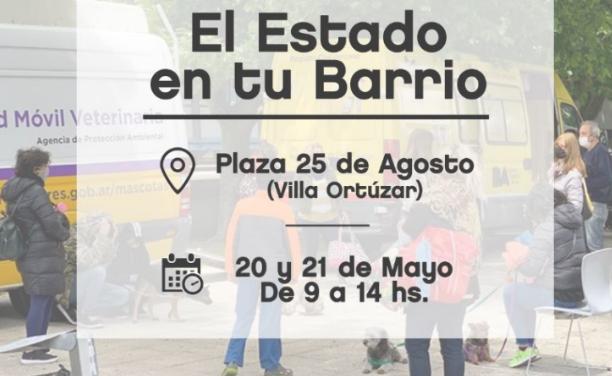 El Estado en tu Barrio en Villa Ortúzar