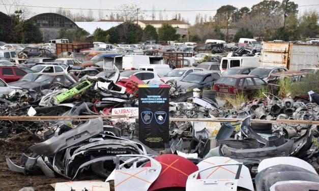 Golpe al mercado ilegal de autopartes: más de 3.700 piezas incautadas en 11 allanamientos