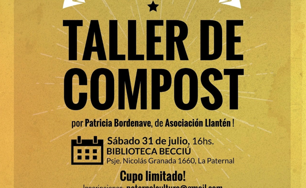 Taller de Compost en la Biblioteca Becciú