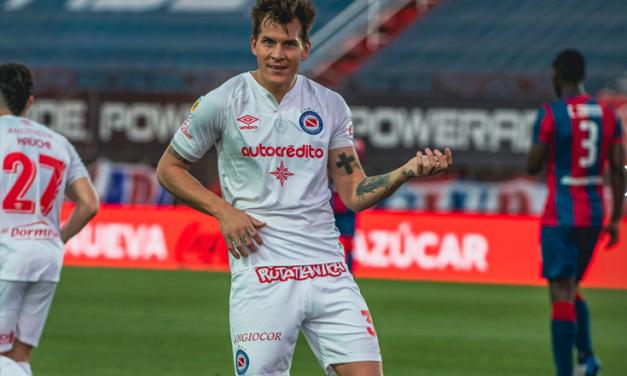 Argentinos extendió su racha y venció como visitante a San Lorenzo