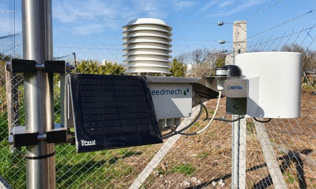 Instalaron una Estación Meteorológica Automática en la FAUBA