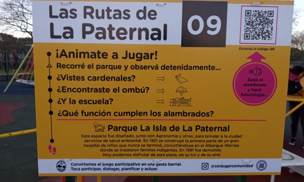 """Se lanzó la actividad """"Las Rutas de la Paternal"""""""