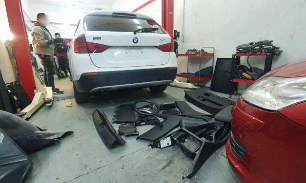 Cayó el desguazador de Paternal: Policía de la Ciudad halló lujoso auto alemán robado en Lomas de Zamora